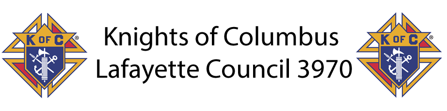 Knights of Columbus – Lafayette Council 3970